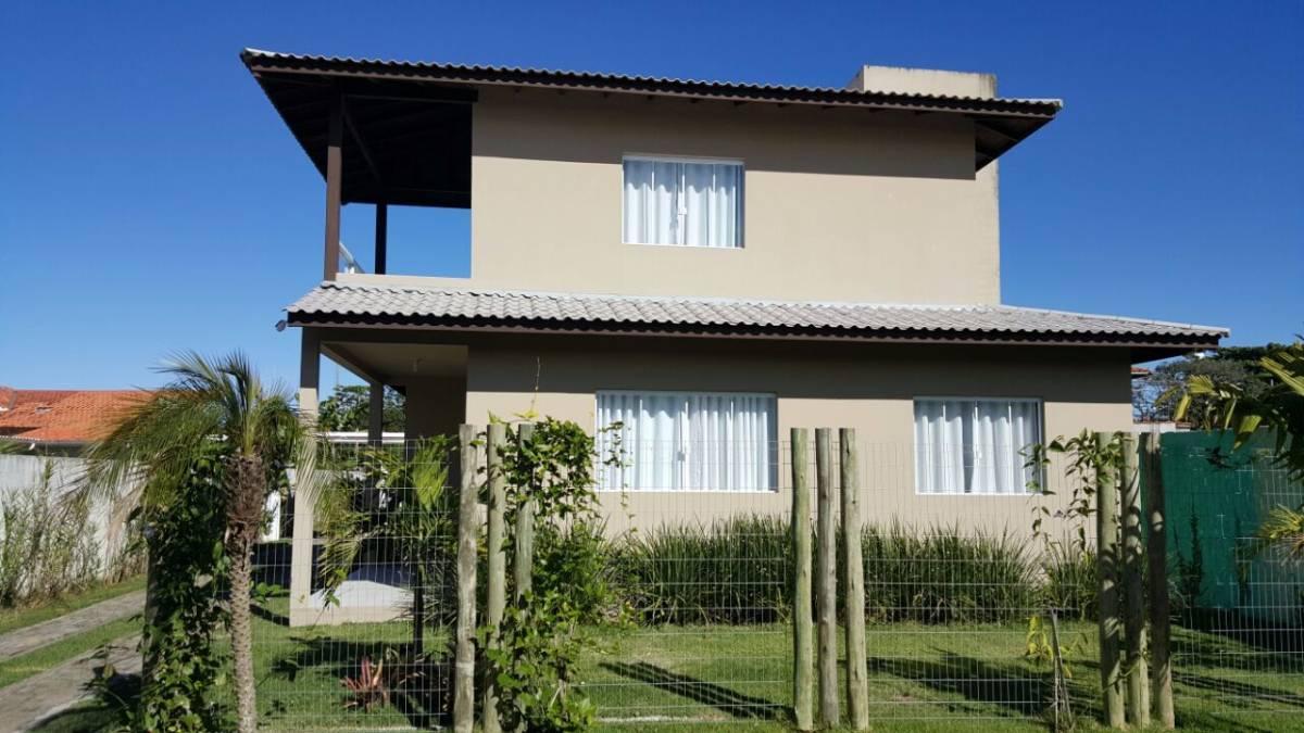 Casa em condomínio fechado 1 quadra do mar no Campeche em Florianópolis