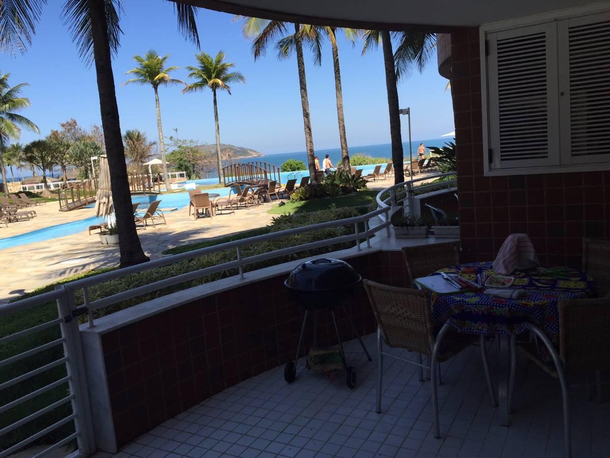 Ocean Side. Apartamento com linda vista para o mar e a piscina.