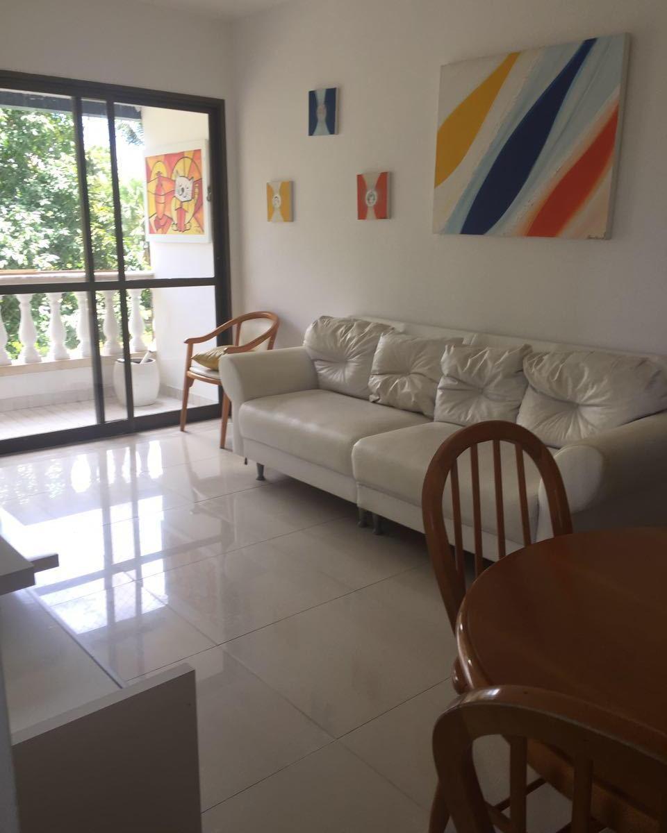 Apartamento dois quartos Mobiliado.
