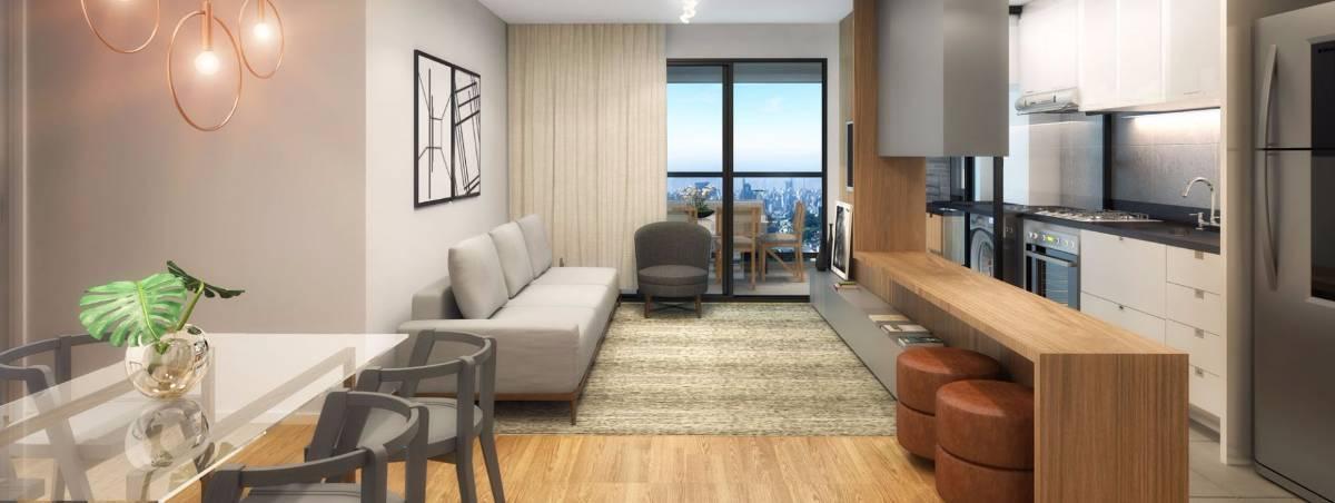 Sensacional apartamento na Planta no melhor ponto do Cabral - Visionist Helbor