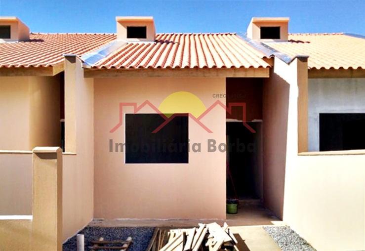 Excelente Casa Geminada com Suite + 1 Quartos no Itinga!