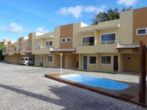 Casa duplex – 3/4 Suíte e varanda – 103m² - Vila Praiana