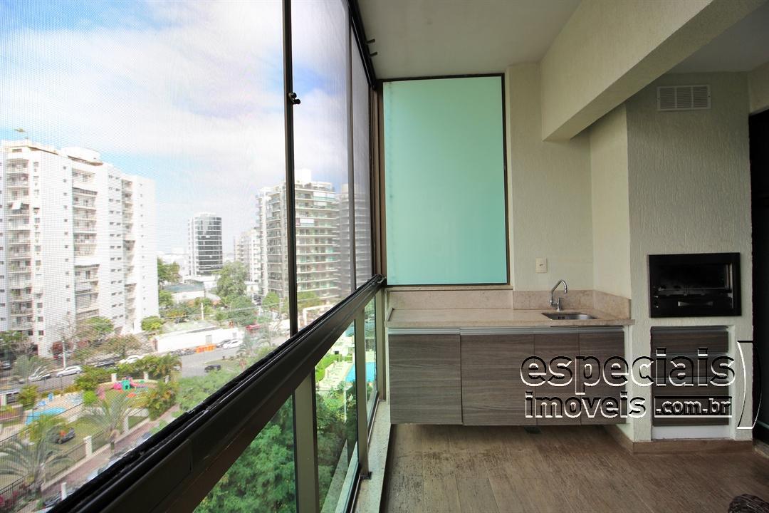 Apartamento no Villas da Barra. 2 Quartos, 1 Suite. Mobiliado. Barra da Tijuca.
