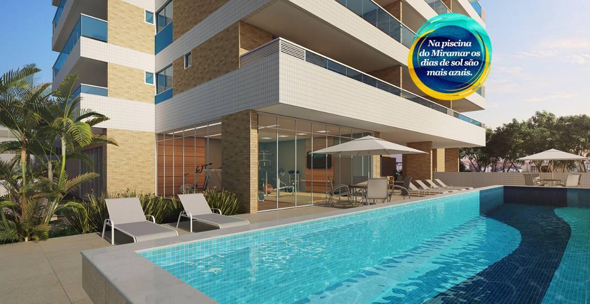 Miramar, Apartamentos 2/4 sendo duas suites com 76m², Localização privilegiada!