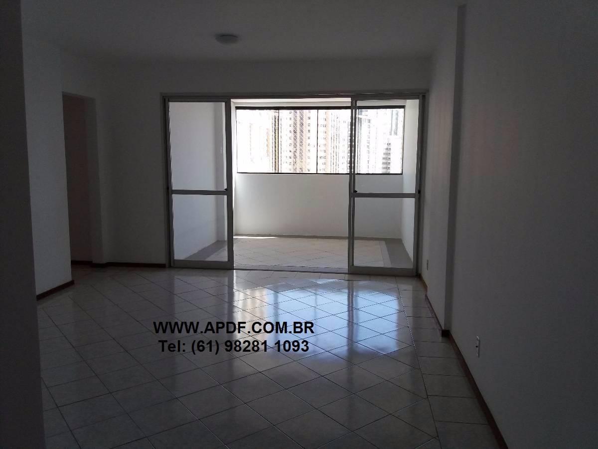 Diamond - AP. 03 quartos 107 m² com 02 VG - Águas Claras.