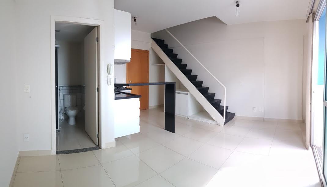 Apartamento Duplex de 1 Quarto em Águas Claras