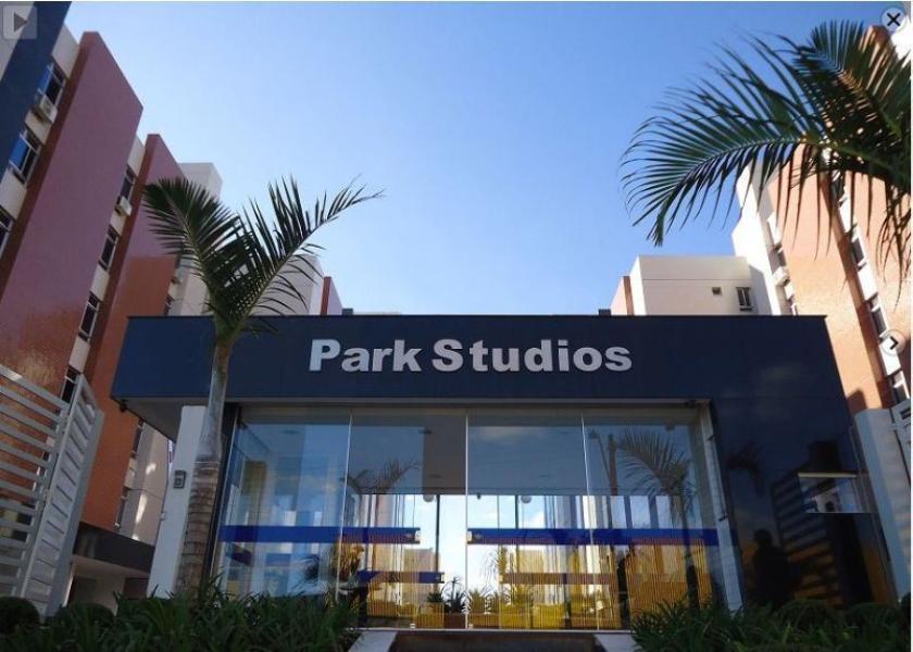 Park Studios - Apto de canto mobiliado 2 quartos