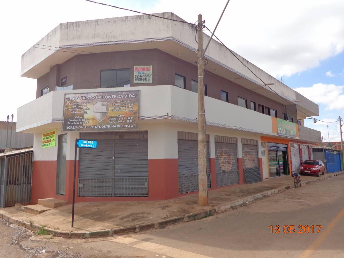 Prédio comercial e residencial - Samambaia/DF