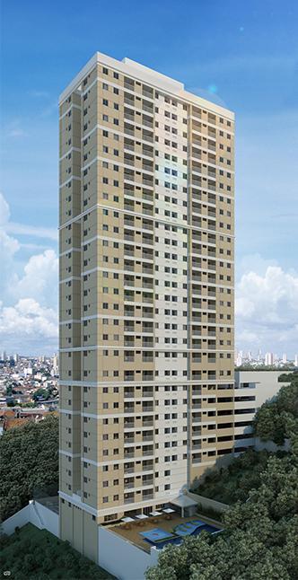 Apartamento no Cabula, 2 e 3/4 quartos, suite e varanda, 1 vaga, lazer completo