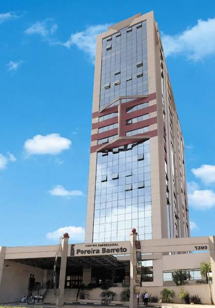 Salas Comerciais 36 m² com coworking - Av. Pereira barreto/SA