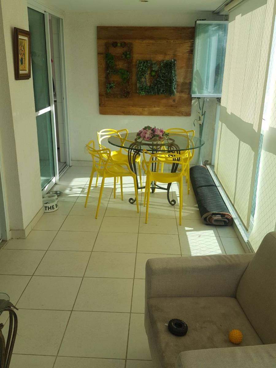 Lindo Apartamento c/ 115M° 3 Qtos 1 Suíte 2 Vagas