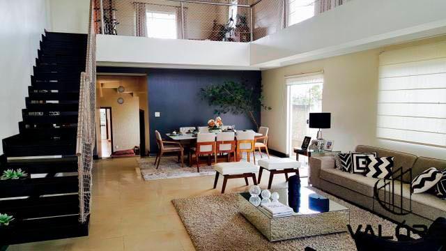 Casa com 4 suítes no Condomínio Quintas do Sol - Jardim Botânico/DF