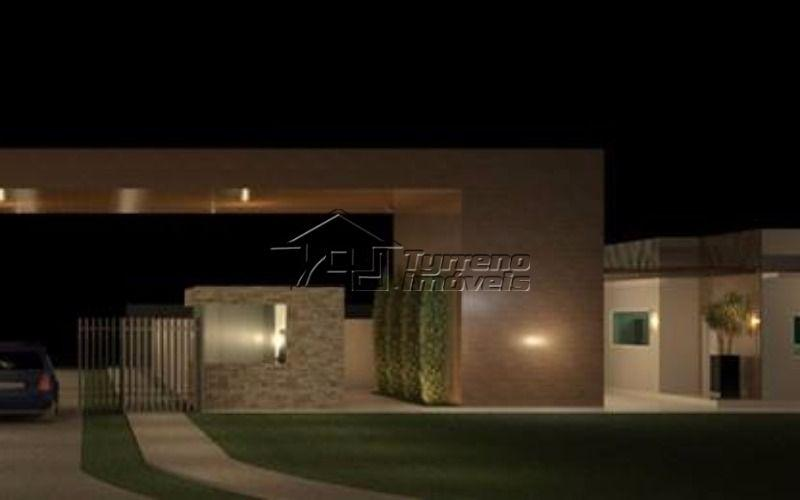 Casa Térrea Nova em Condomínio 3 suítes