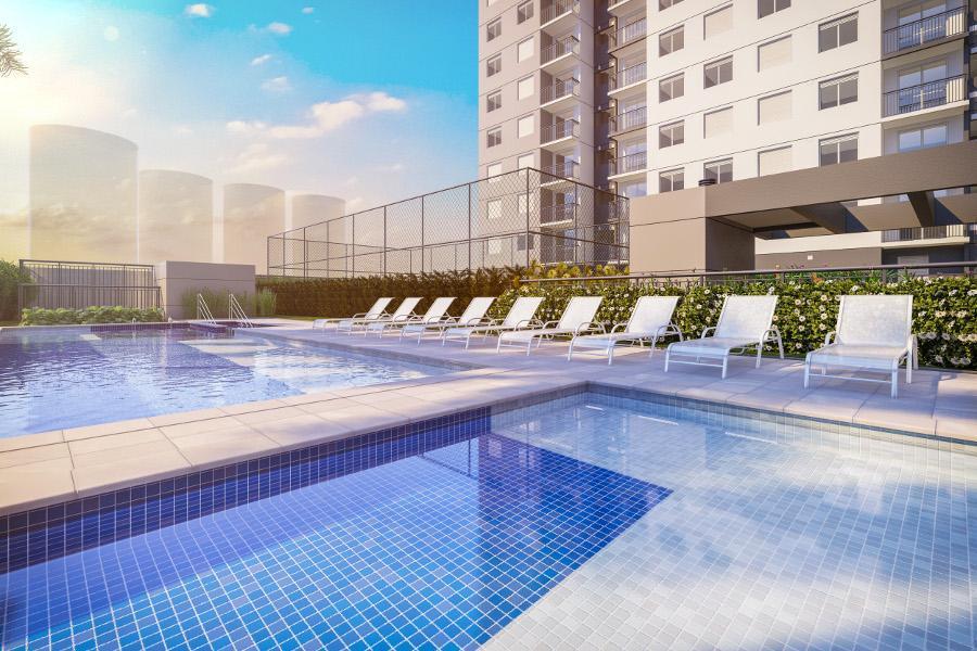 Clube Jaçana * 02 e 03 Dormitórios *** 45m² a 60m²