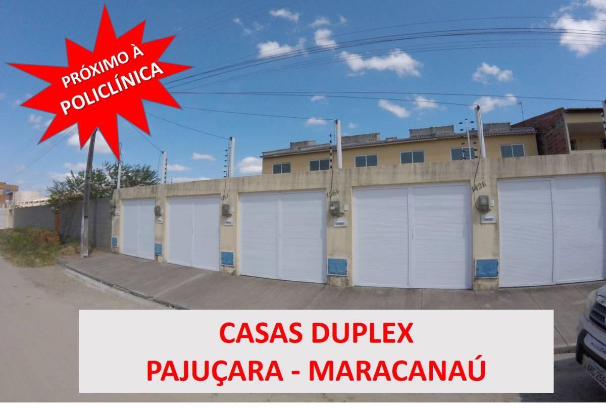 Casa Duplex na Pajuçara em Maracanau - Minha Casa Minha Vida