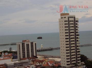 Apartamento residencial à venda, Praia de Iracema, Fortaleza - AP1923.