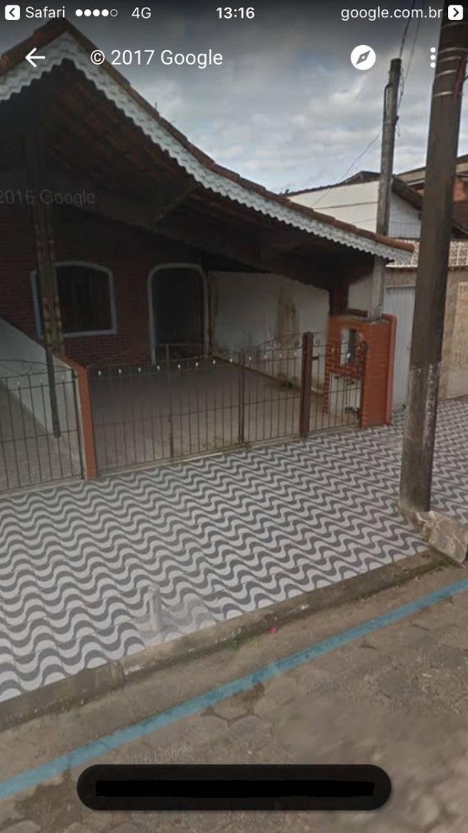 Casa a 500 metros da praia - Centro Da Vila Nova Mirim - Praia Grande