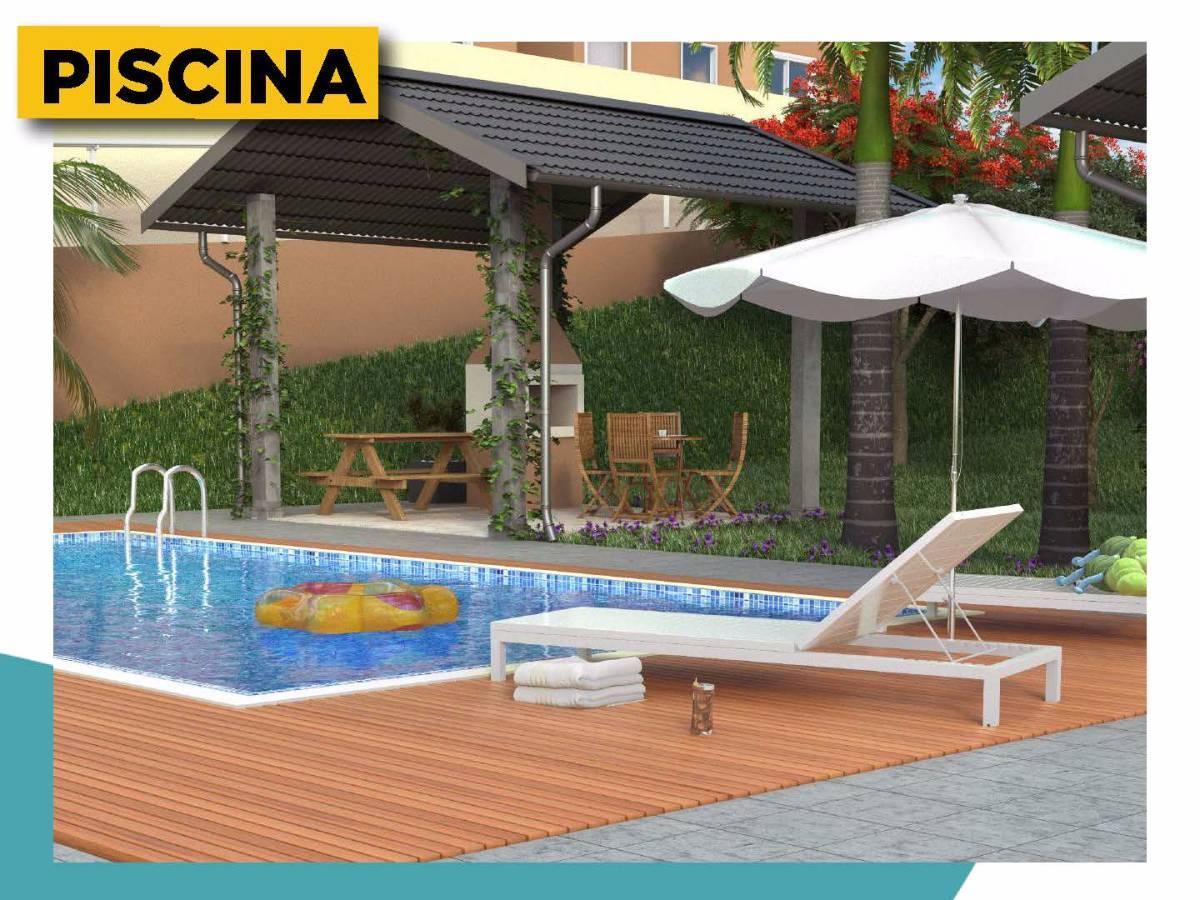 Orlando Condomínio Clube Em Colombo Com Infraestrutura De Clube No MCMV