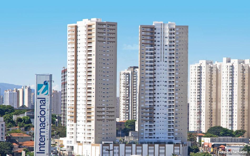 Apartamento no centro de Guarulhos Cless -74 m² com 2 dorm 2 vaga