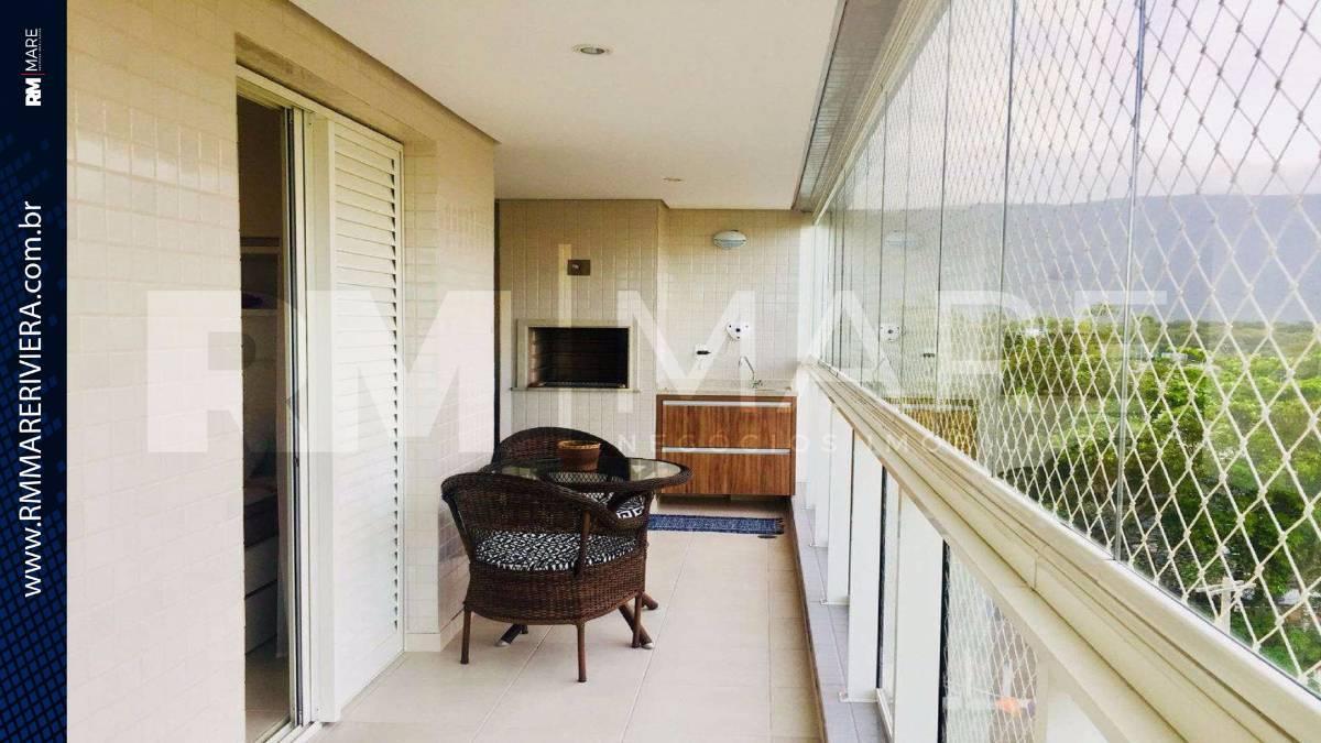 Apartamento para venda tem 90 metros quadrados e 3 quartos em - Bertioga - SP.