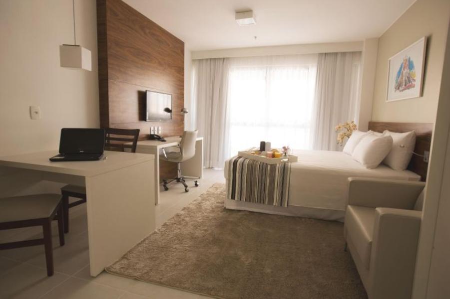 SHN 01 FUSION E VISION APART HOTEL C/MOBÍLIA E SALAS - MUITO BARATO