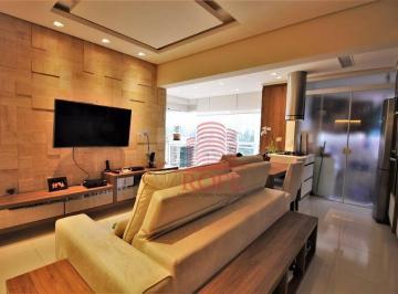 Thera Berrini Residence, 72m², 2 Dorm., 1 Suíte com closet, 1 Vaga, Living ampliado, Sacada fechada