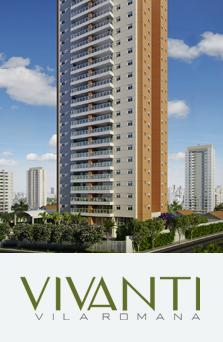 Apartamento 88 m/3 dormitórios/suíte/2 vagas  - Vila Romana