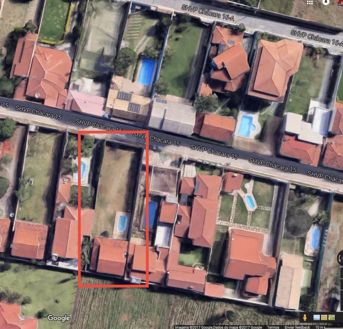 Terreno de 3 quartos, Vicente Pires