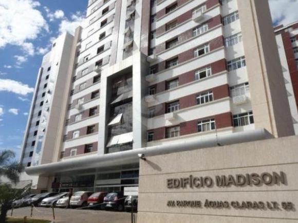 Madison Residence - Apartamento duplex com 55m² -  Lazer completo - Águas Claras