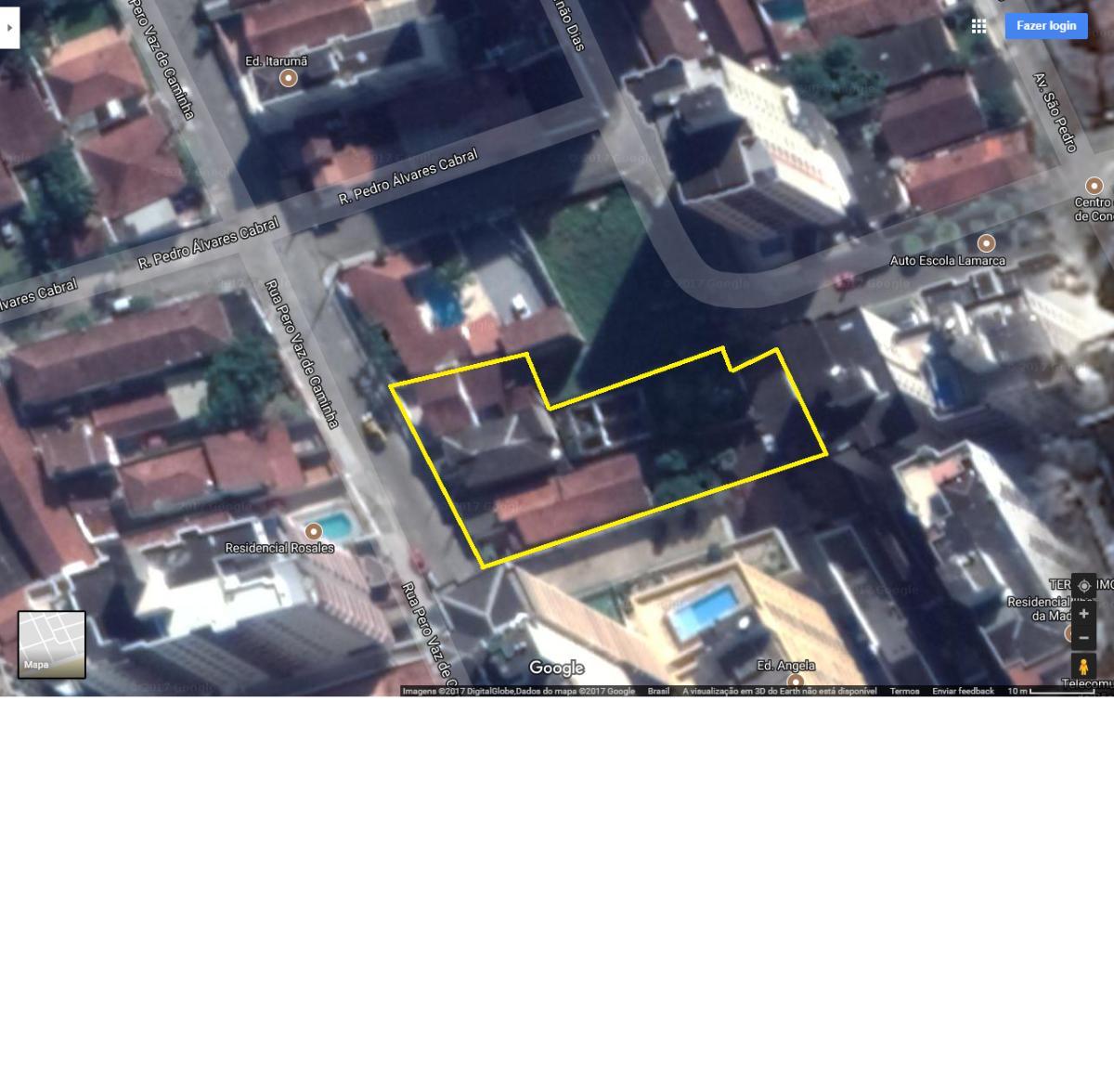 Lote/Terreno/Área para venda com 1450 m² em Aviação - Praia Grande - SP.