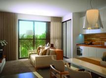 Ilha Verde, világios de 3 dorms, com serviço pay-per-use