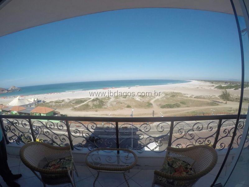 Luxuoso apartamento com porteira fechada com vista total do Mar
