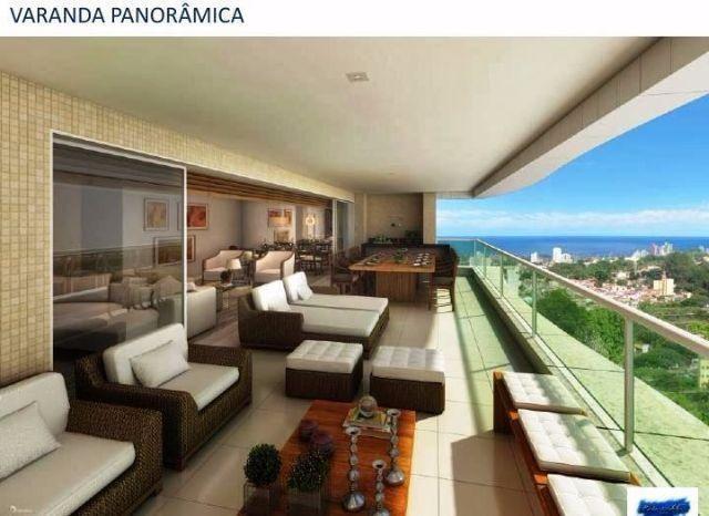 Apartamento na Graça, 4 suites com 4 vagas,lazer completa, Riservatto Graça