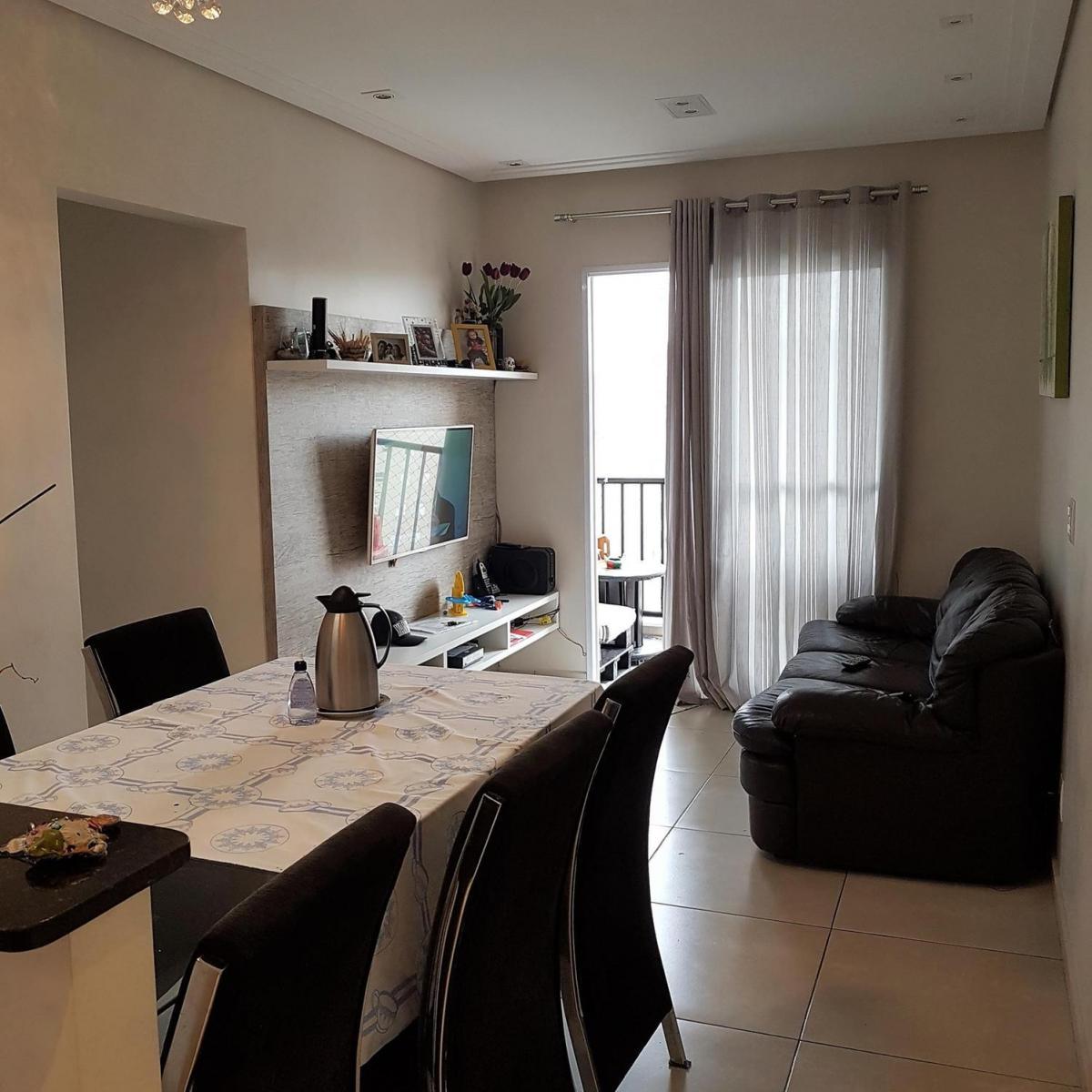 Apartamento Mobiliado 65m² e 3 quartos em Umuarama - Osasco - SP.