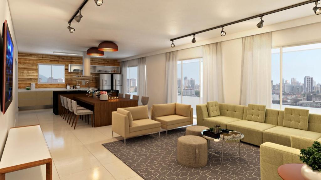 Apartamento novo com ótima localização na Ana Costa, venha conferir!