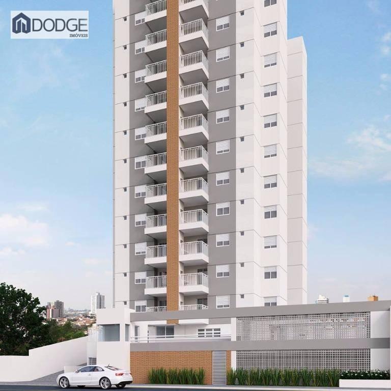 Apartamento 57 metros 2 dormitórios Campestre Santo André