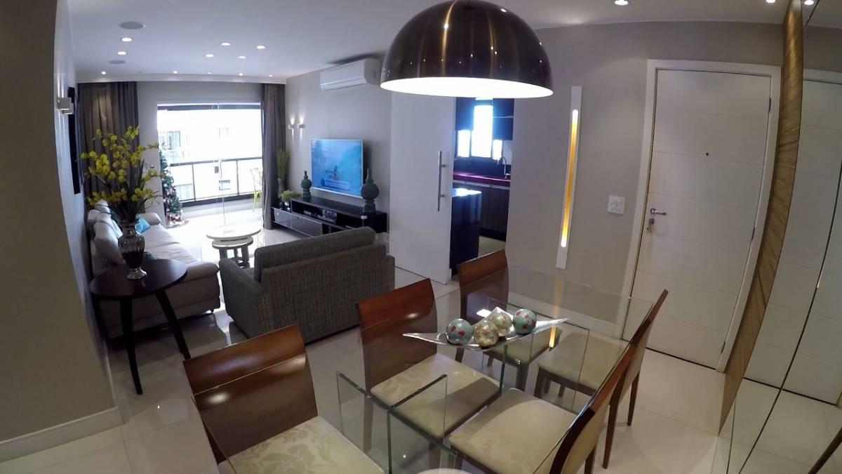 Apartamento 3 qtos Varanda gourmet 2 vagas Águas Claras DF Via Naturale