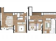 Duplex com vista Maravilhosa - 153m2 Priv. - Última Unidade!