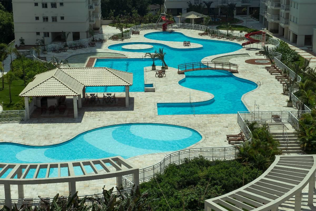 AcquaPlay Home Resort - Apartamento 2 dormitórios - Marapé / Santos