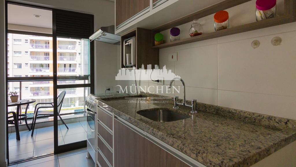 Apart. Life residence,semi-mobiliado,ensolarado, 77 m²priv.3 dorm.1 suíte,1 vaga