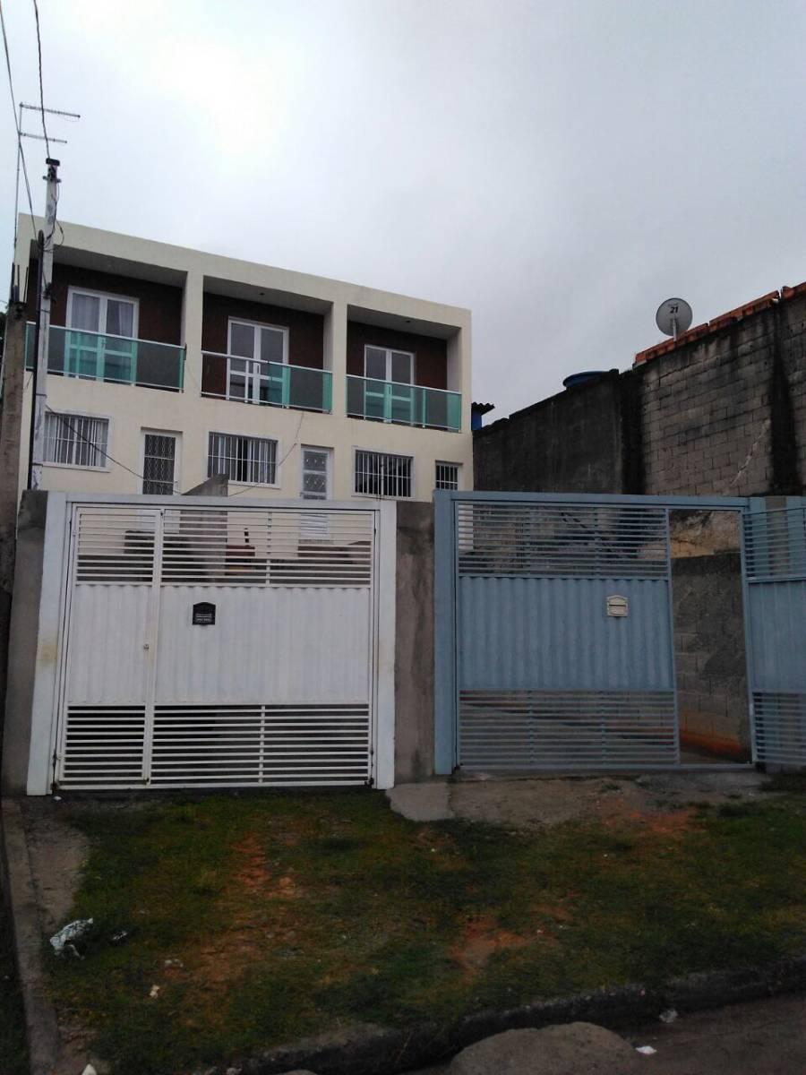 Casa sobrado com 74m² e 2 vagas na garagem. Use seu FGTS. Financiamento caixa