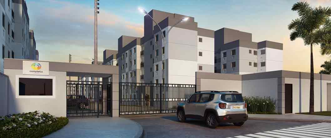 Completo Jacarepagua - Apartamento de 3 quartos - Taquara