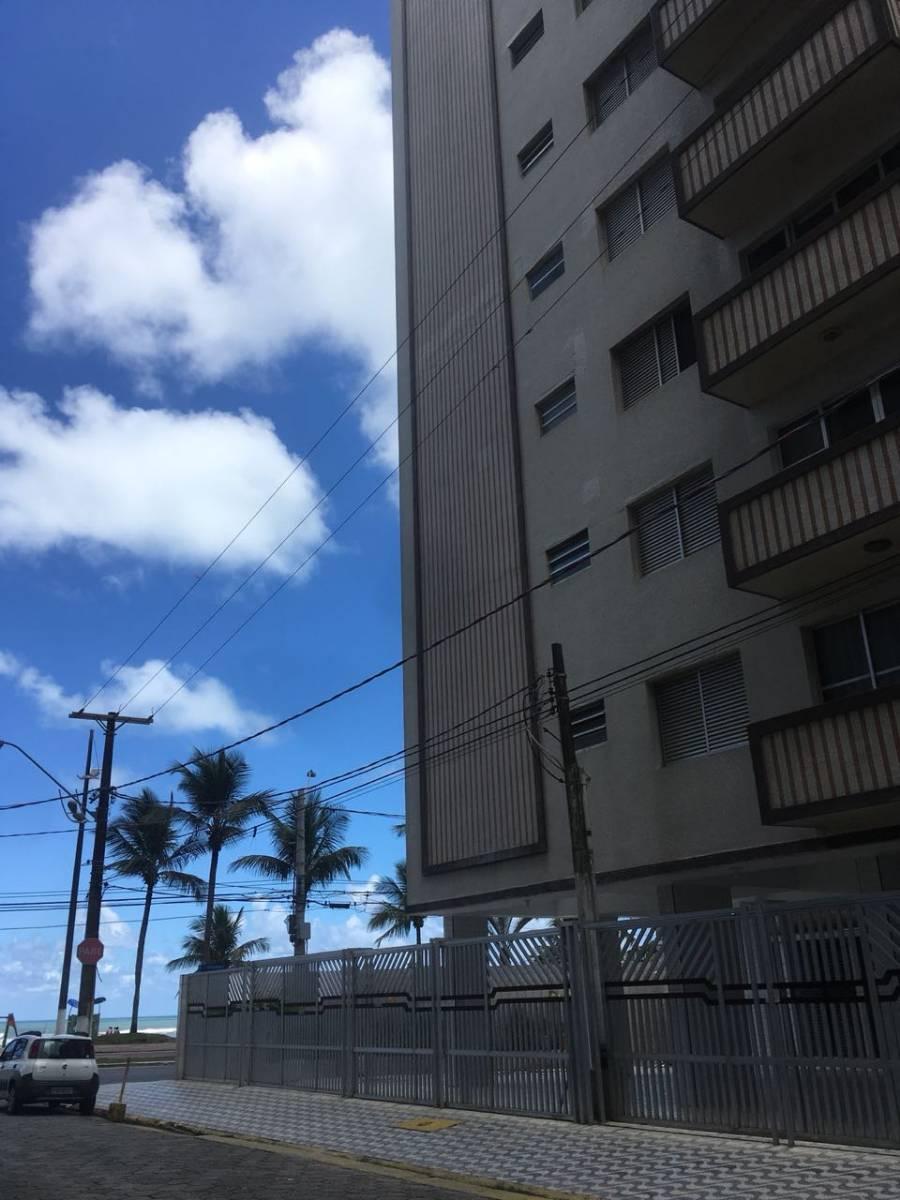 Apartamento Frente mar 3dorm