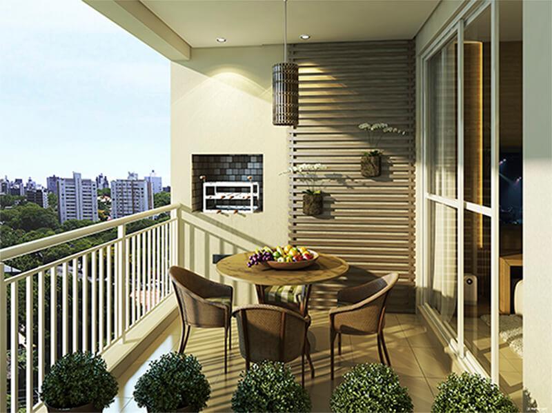 Ecoville Apartamentos 69 m² - 02 quartos - Parque Ecoville