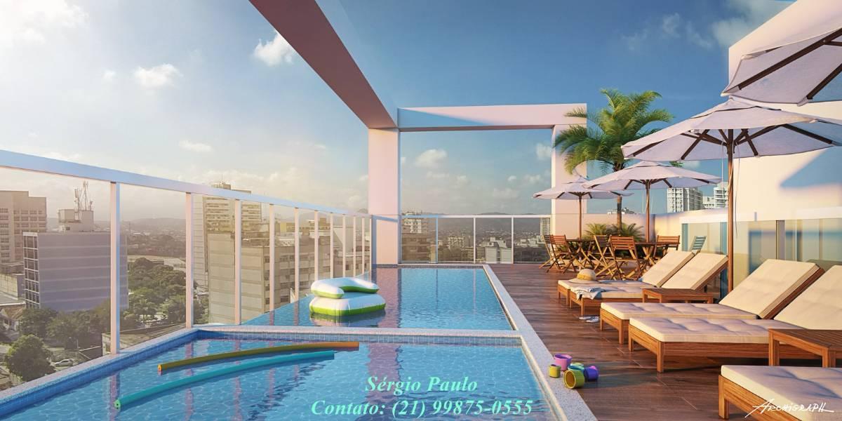 Lançamento em Nova Iguaçu, Centro - Exclusivo - Apenas de 42 apartamentos.