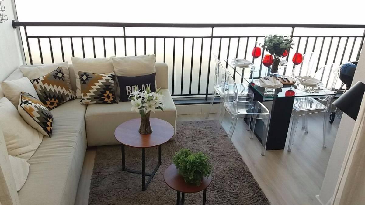 apartamento living resort 2 e 3 dormit com sacada-1 e  2 vagas-entrada de 10 mil