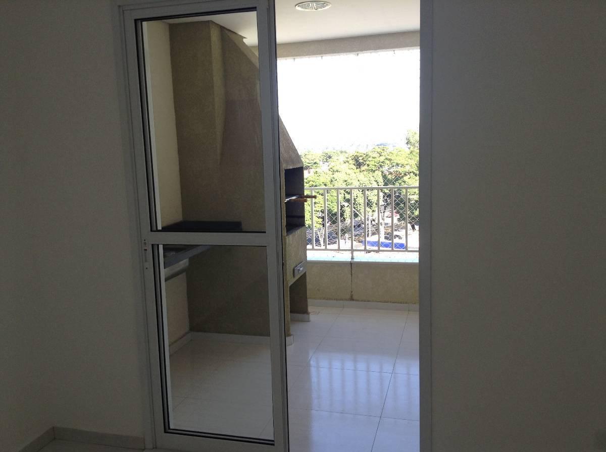 Jardim Oriente - Apartamento 2 dormitórios 1 suíte varanda com churrasqueira