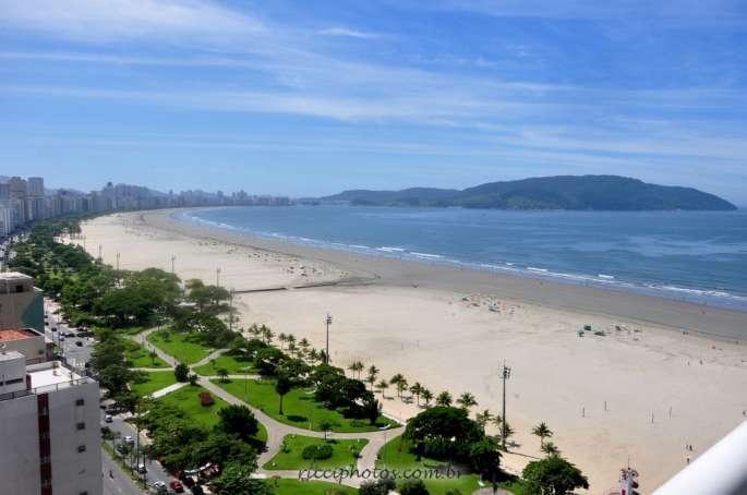 Maravilhoso Apartamento total Vista Mar na Praia com serviços