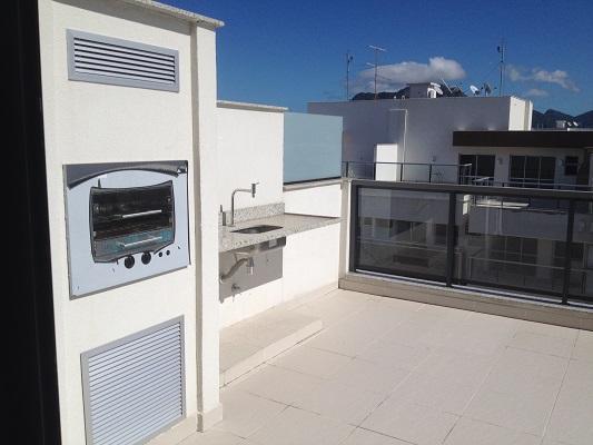 Cobertura Recreio 3 Quartos - 140M² - Enjoy - R$740.000