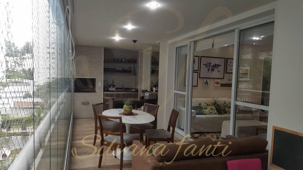 Apartamento 130m, 3 suítes 2 vagas depósito varanda gourmet lazer completo